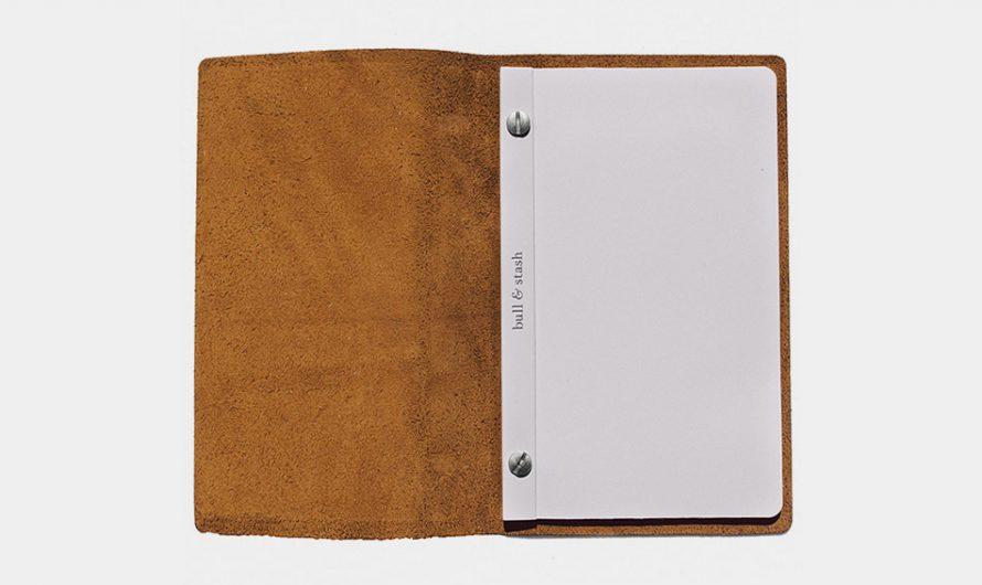 Bull & Stash Leather Notebook