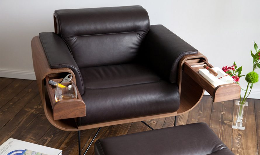 El Purista Smokers' Armchair