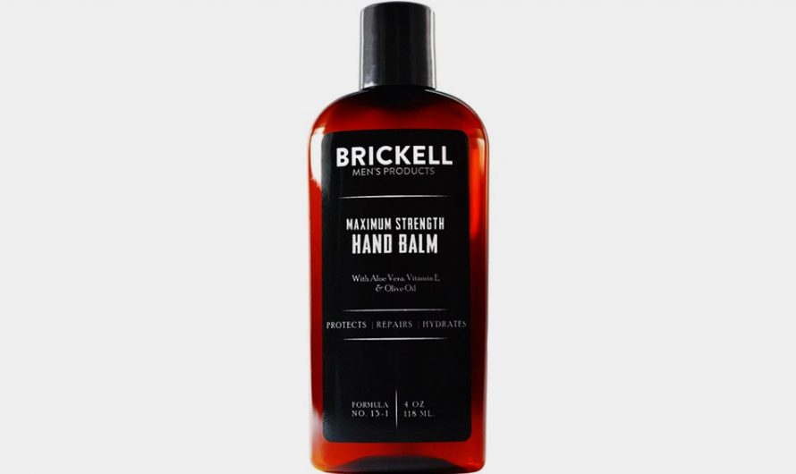 Brickell Hand Balm