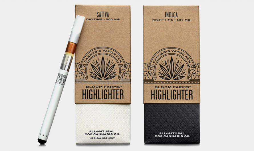 Bloom Farms Highlighter Cannabis Vapor Pen