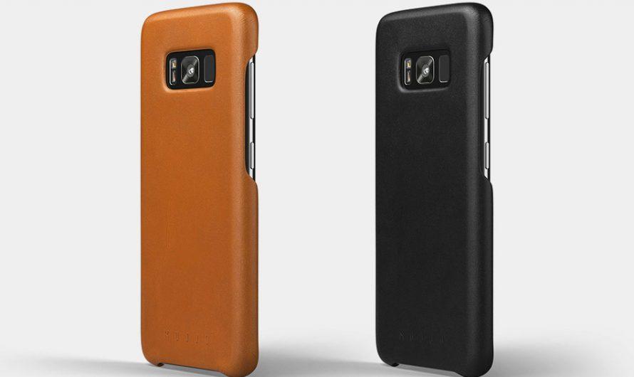 Mujjo Galaxy S8 Leather Case