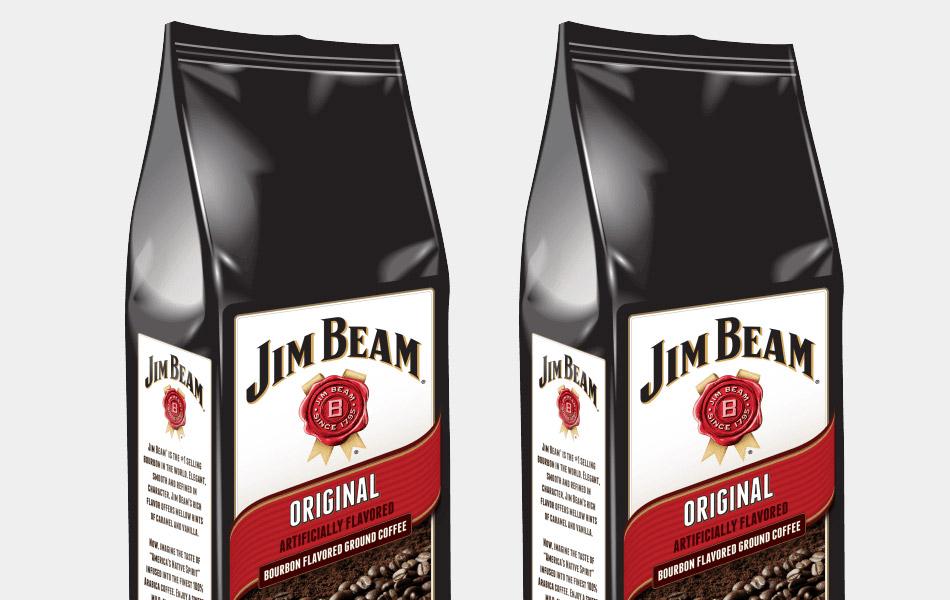 Jim Beam Whiskey Coffee