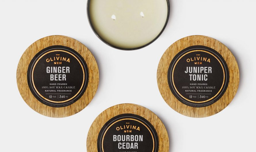 Olivina Scented Wax Candle