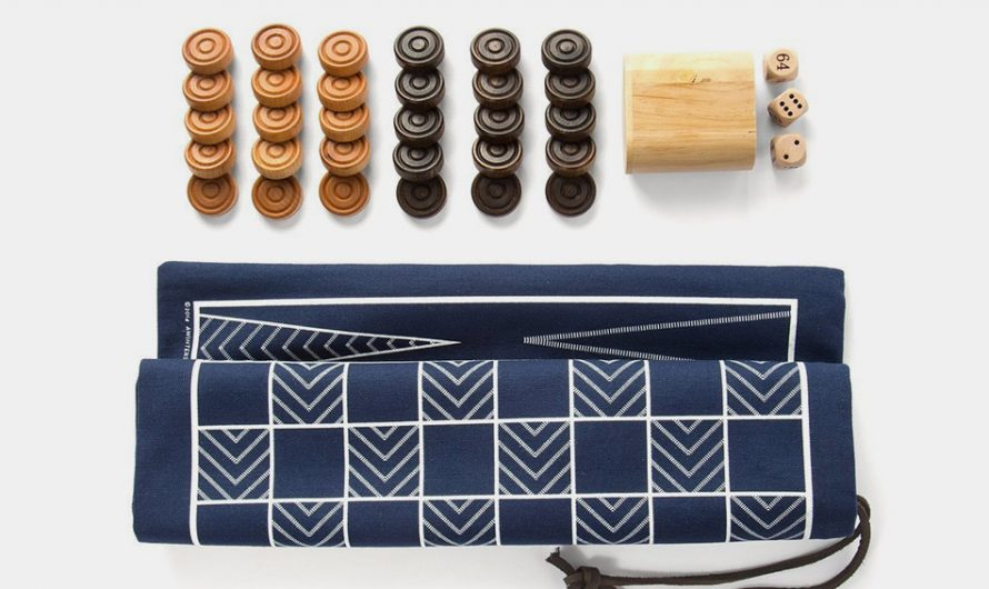 Backgammon And Checkers Travel Bag