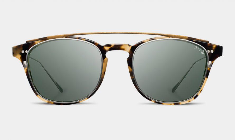 Shwood x Iron & Resin Kennedy Riding Glasses