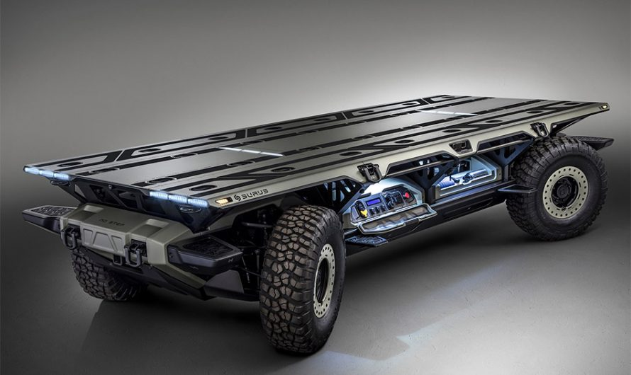 GM Surus Autonomous Truck