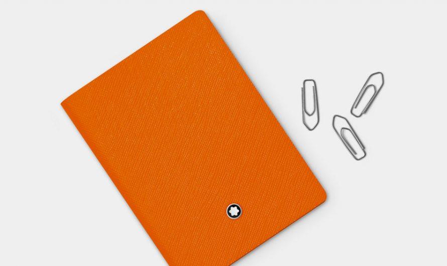Monblanc Lucky Orange Notebook