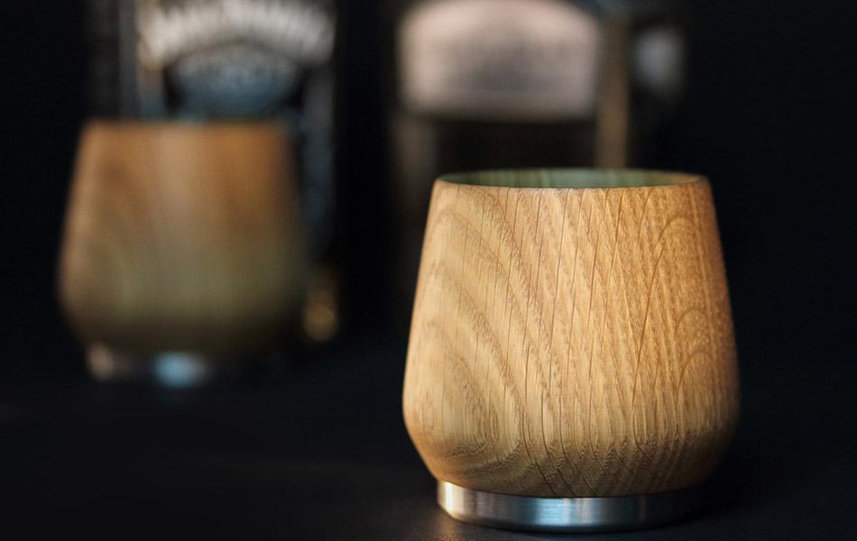 Nisnas Oak Honey Whiskey Tumbler
