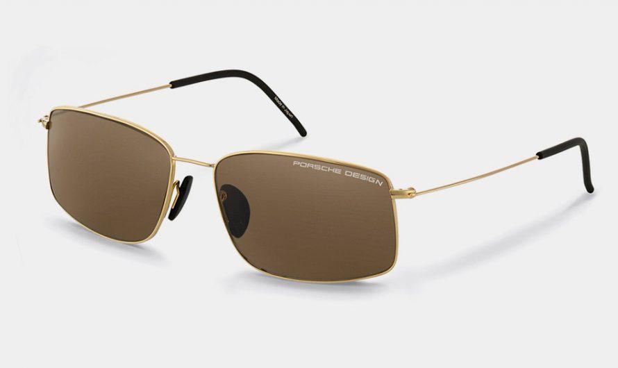 Porsche Design Gold Sunglasses