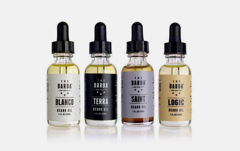 The Barba Organic Beard Oil