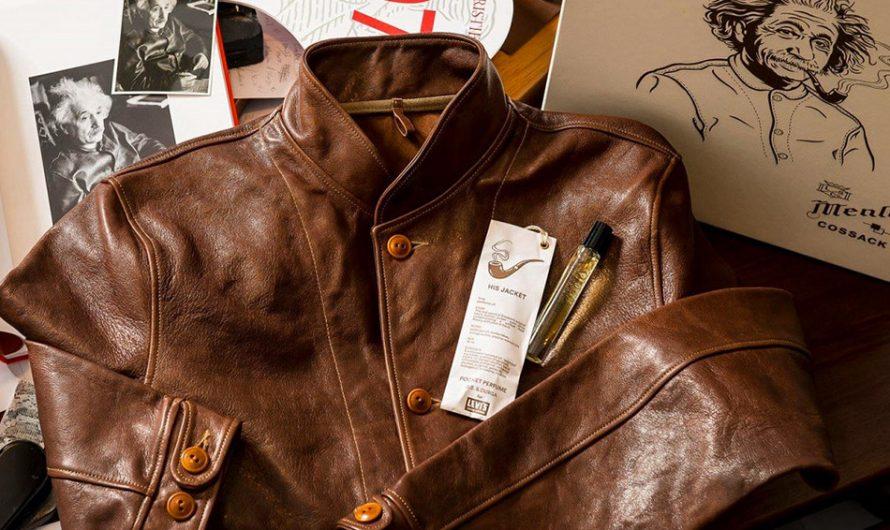 Albert Einstein's Leather Jacket