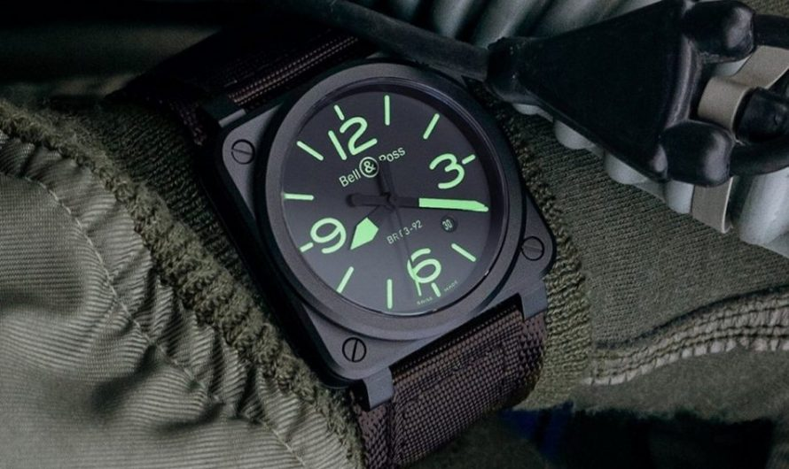 Bell & Ross 03-92 Nightlum Watch