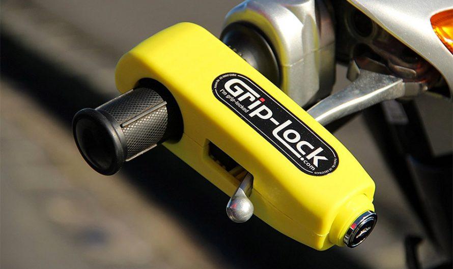 Grip-Lock Motorcycle Handlebar Lock
