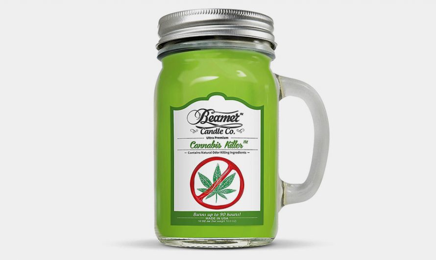 Cannabis Killer Candle