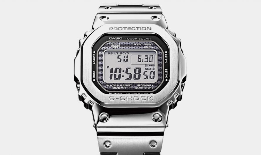 Casio 5000 Series G-Shock In Metal