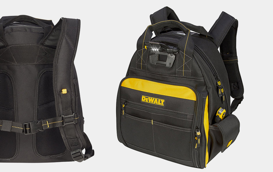 DEWALT DGL523 Lighted Tool Backpack