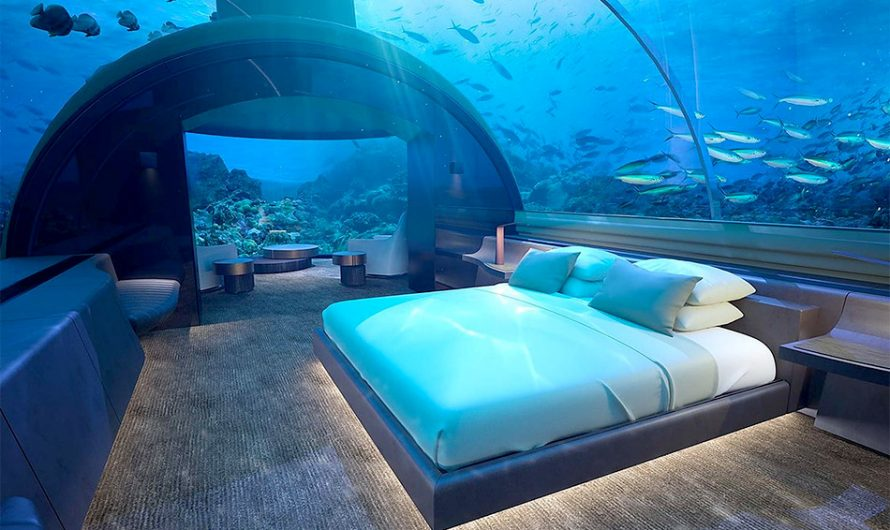 Muraka Underwater Hotel Suite