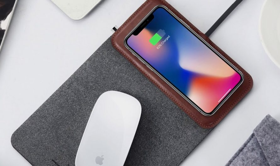 Portable Mousepad And Wireless Charger