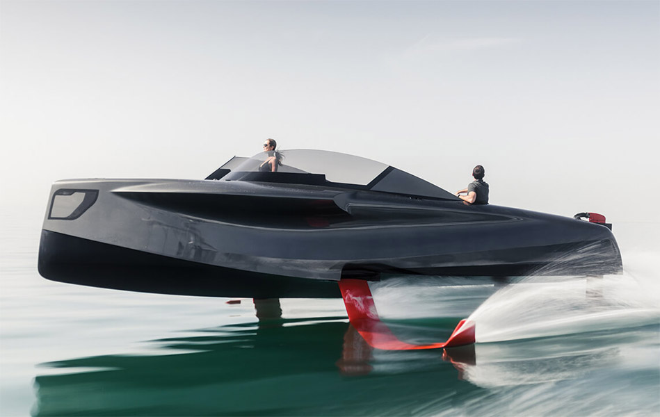 Foiler Flying Yacht
