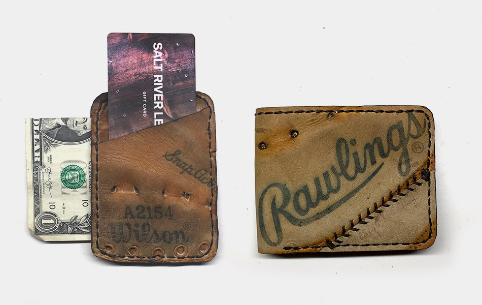 Salt River Baseball Glove Wallet