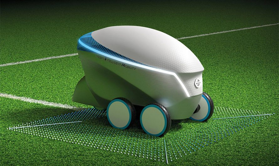 Nissan Pitch-R Soccer Robot