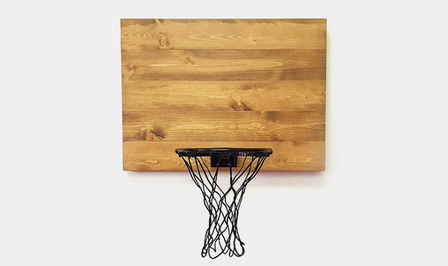 Blue Fox Indoor Wood Basketball Hoops