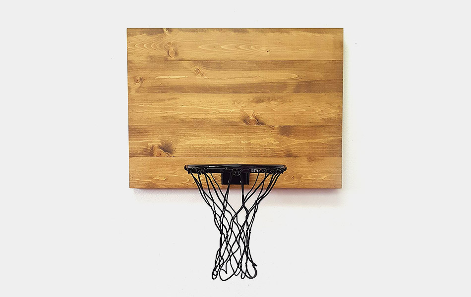 Blue Fox Indoor Wood Basketball Hoops