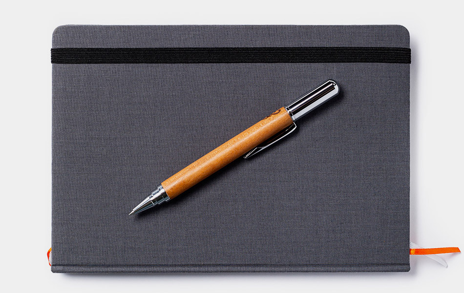 Pad & Quill Wooden Rollerball Pen