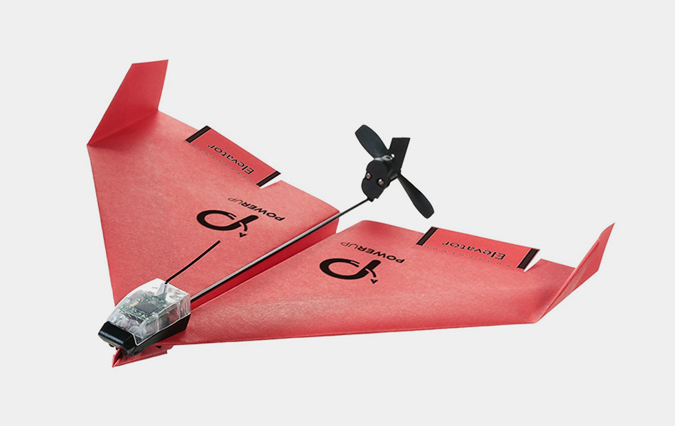 Smartphone Controlled Paper Airplane