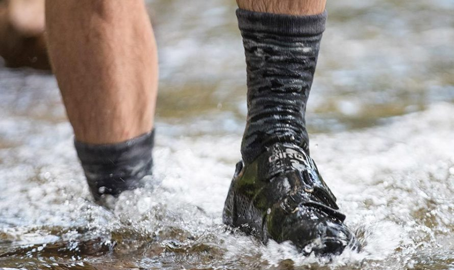 Showers Pass Camo Waterproof Socks