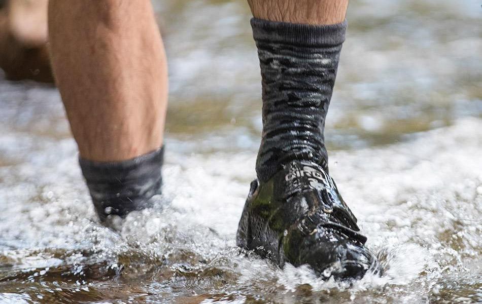 Showers Pass Camo Waterproof Socks