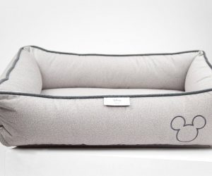Max Bone Mickey Mouse Embroidered Bed