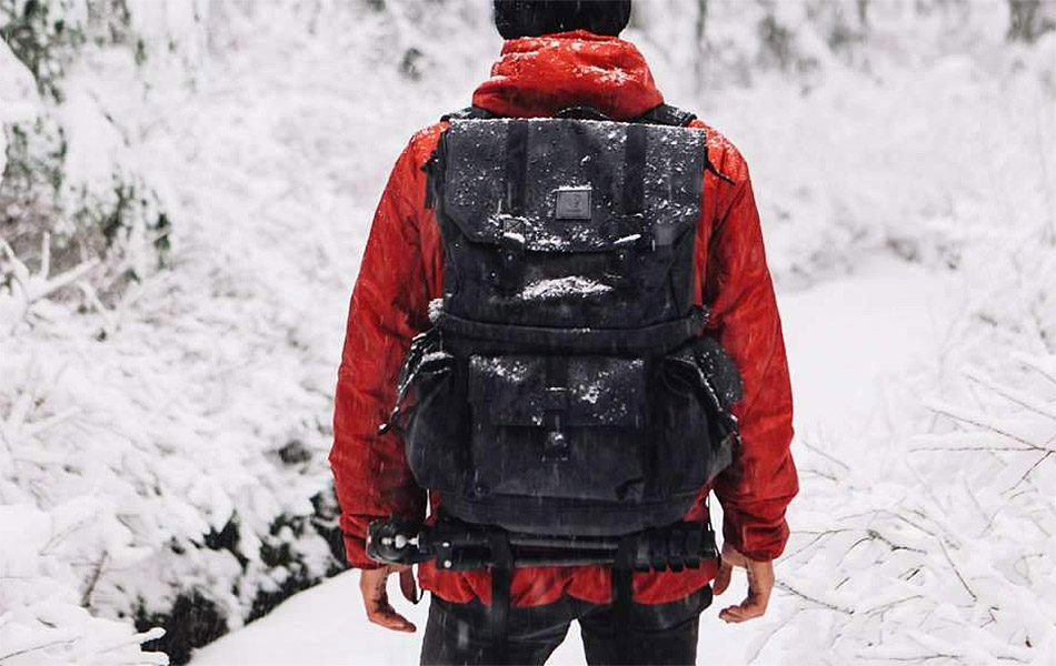 Langly Alpha Globetrotter Camera Backpack