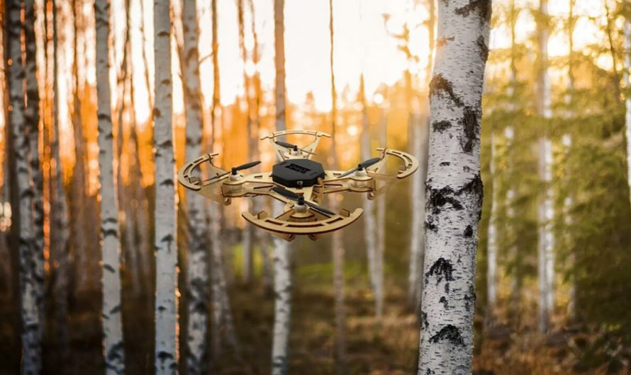 Aerowood: The Marvelous Modular Wooden Drone