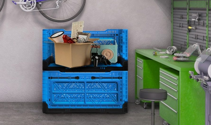 BIGANT Heavy-Duty Collapsible Crates