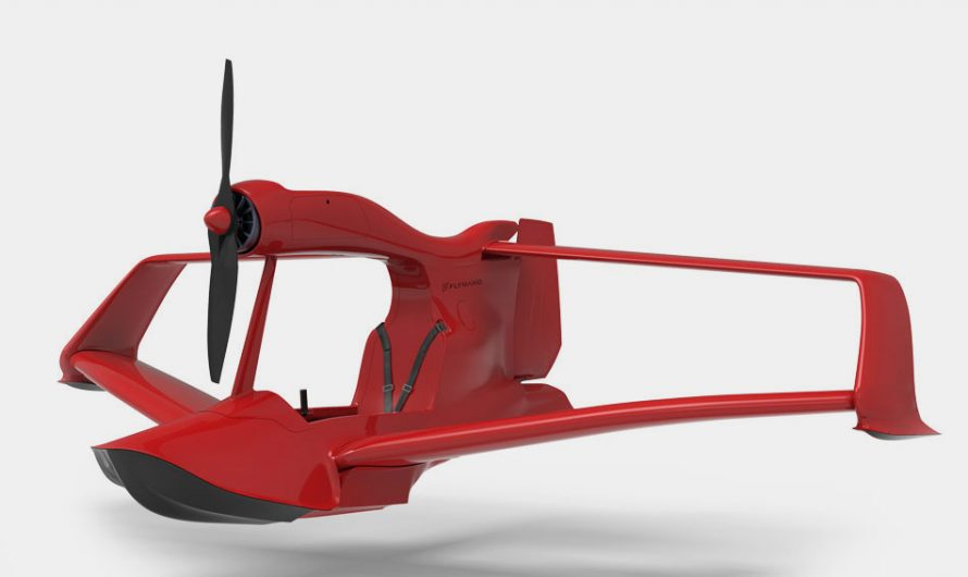 FlyNano Electric Jet Ski Plane