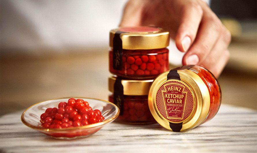 Heinz Valentine's Day Ketchup Caviar