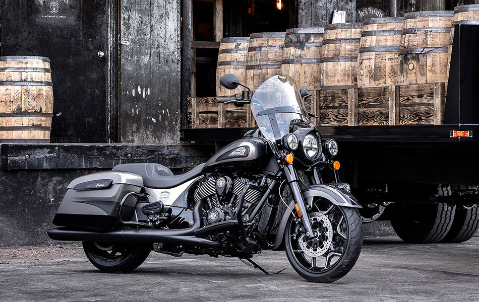 Indian Motorcycle x Jack Daniel's Dark Horse