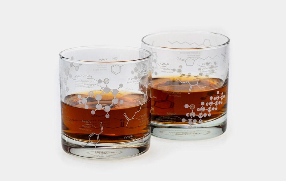Chemisty of Whiskey Glass Set