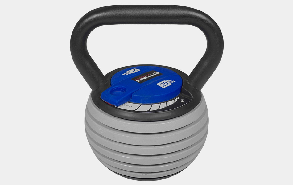 Rock Solid Adjustable Kettlebell