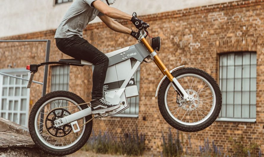 Cake Kalk& Electric Motorcycle