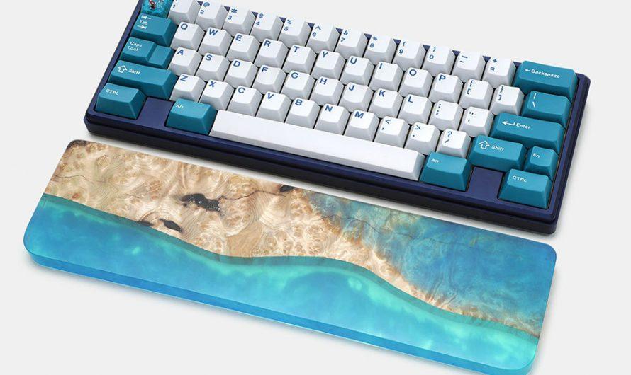 Poco Wood and Resin Keyboard Wrist Rest