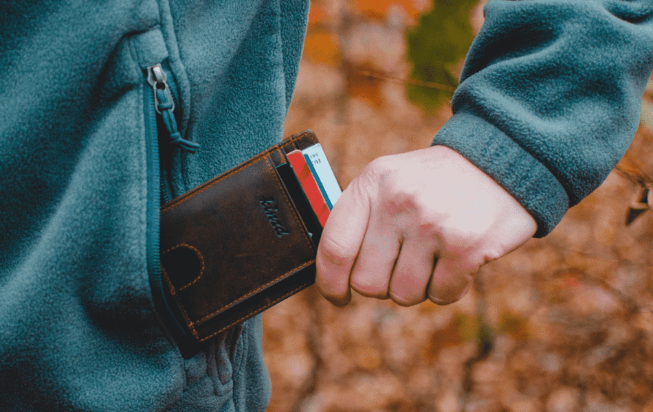 Kinzd Minimalist Money Clip Wallet