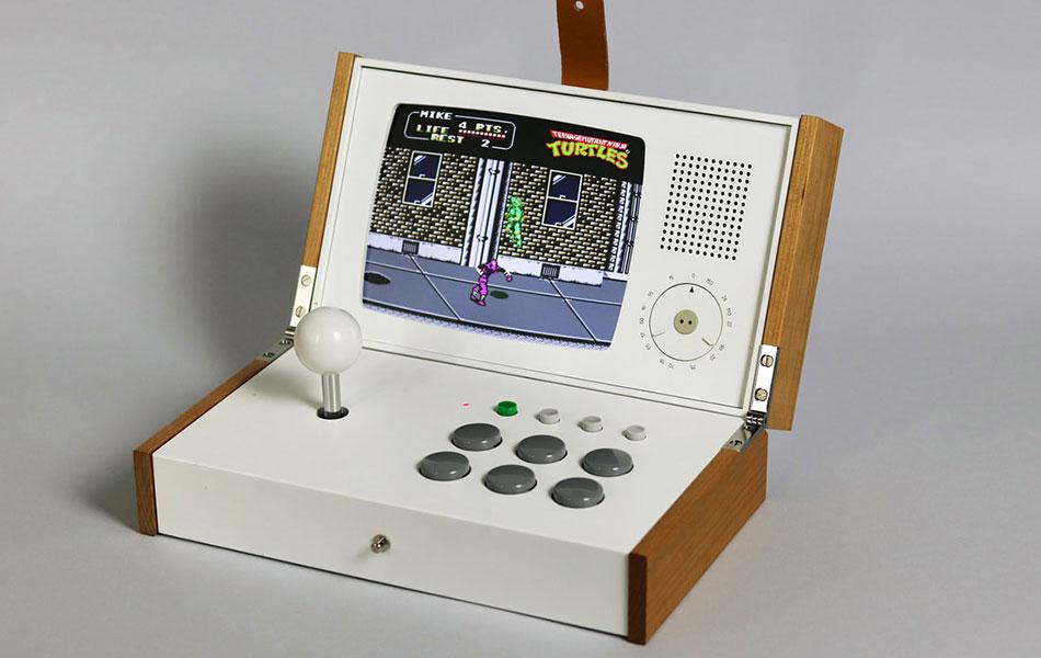 R-KAID-R SK-4 Portable Arcade Console