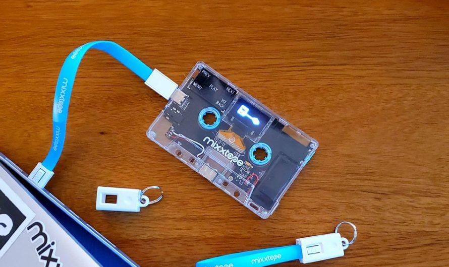 Mixxtape Bluetooth MP3 Player
