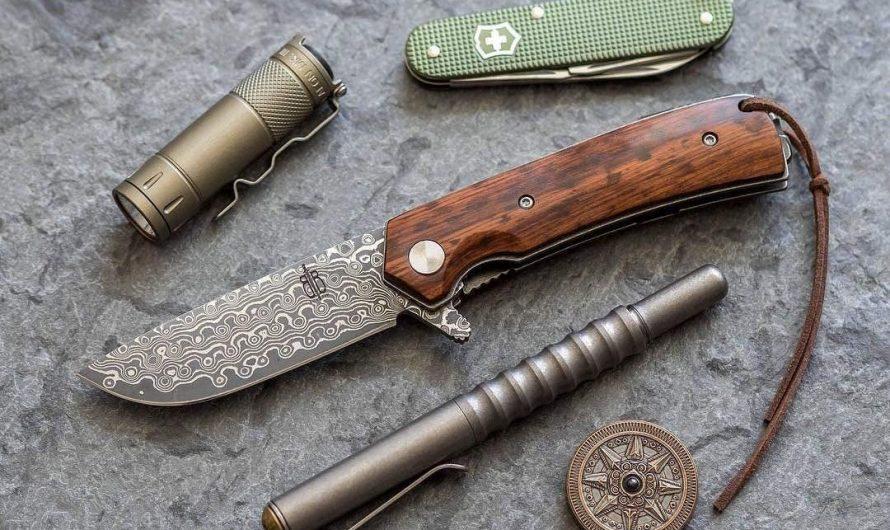 BucknBear Snakewood Flipper