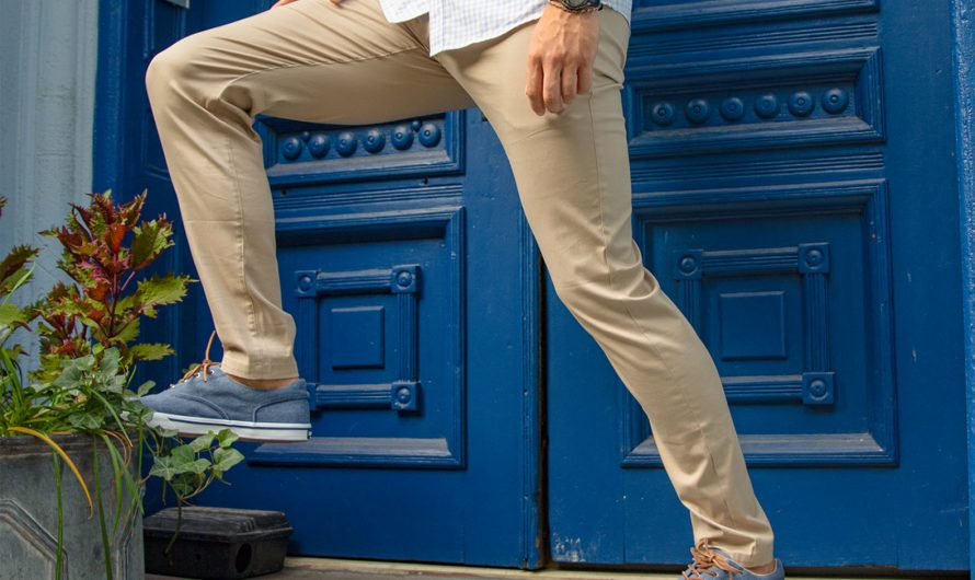 The Khaki Pants That Feel Like Sweats