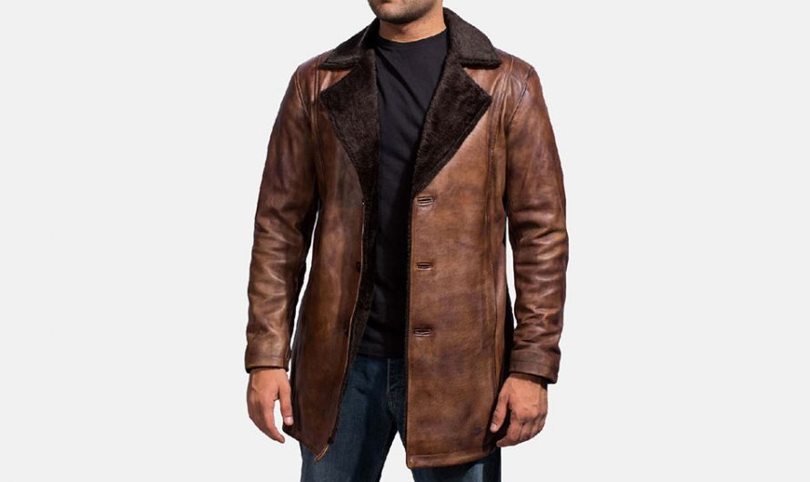 How to Wear a Leather Trench Coat