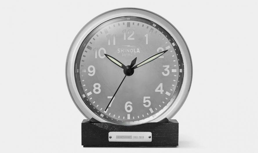 Shinola Runwell MD-80 Desk Clock