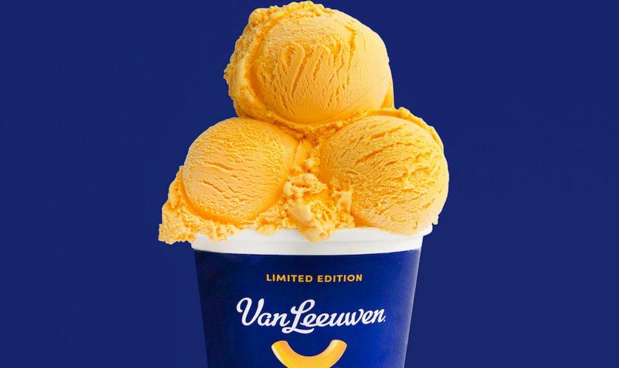 Van Leeuwen Kraft Mac & Cheese Ice Cream